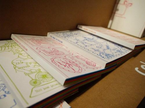 9SpotMonk Letterpress Coloring Books 500x375 January 2011 NYIGF, Part1