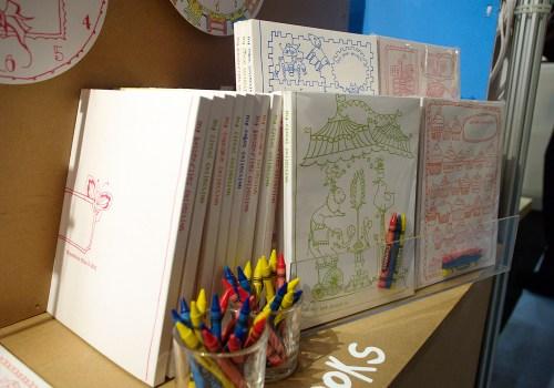 9SpotMonk Letterpress Coloring Books2 500x350 January 2011 NYIGF, Part1