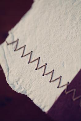 Letterpress Thank You Cards Zig Zag Stitching Claytons Elegant Letterpress Thank You Cards