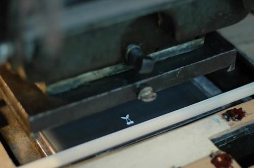 Engraving Printing Process Step1 500x332 The Printing Process: Engraving