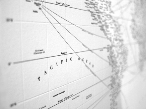 letterpress typographic map detail 500x374 {today I love...}