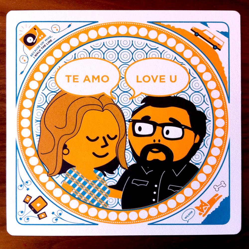enrique annessas creative mexico destination wedding invitations mexican wedding invitations Orange Blue Modern Mexico Wedding Invitations Bride Groom