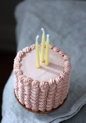 adorable pink cake2 300x449 {happy weekend!}