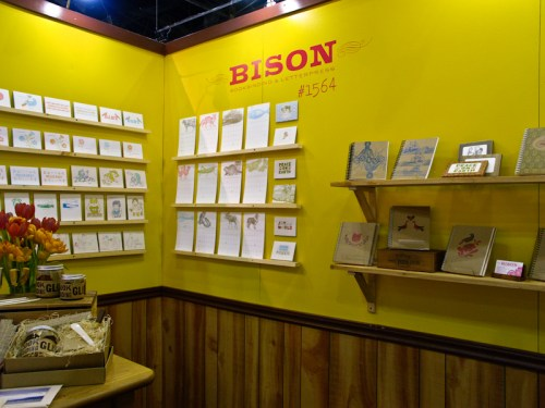 National Stationery Show Bison Bookbinding19 500x375 National Stationery Show 2011   Part 7