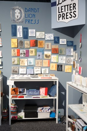 National Stationery Show Ladies of Letterpress22 300x450 National Stationery Show 2011   Part 4