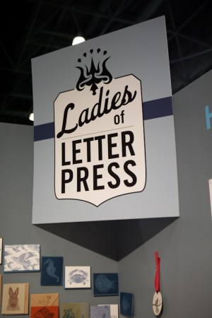 National Stationery Show Ladies of Letterpress48 300x450 National Stationery Show 2011   Part 4