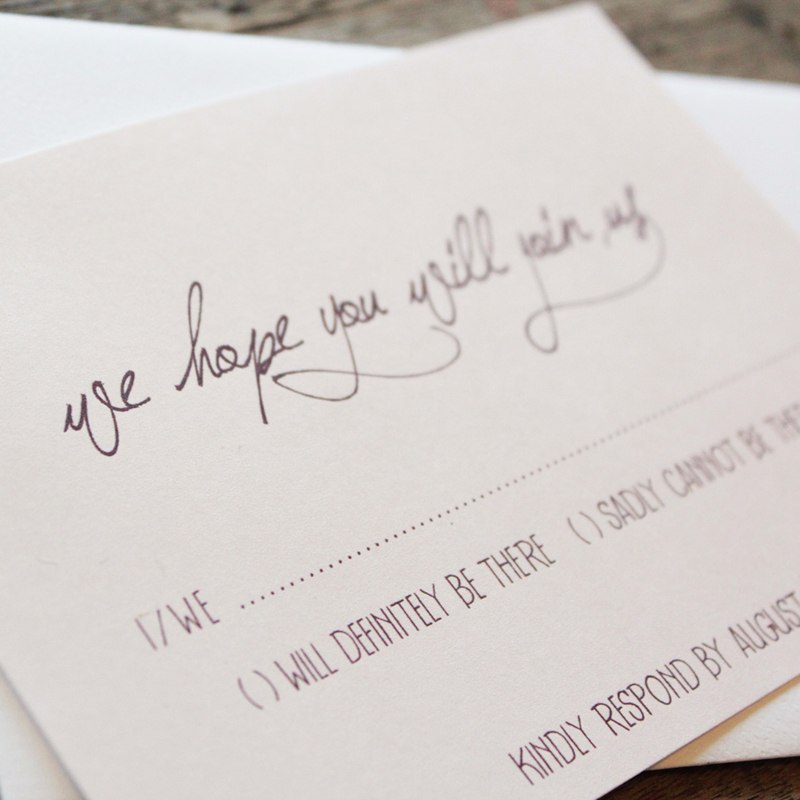 Invitation Handwriting Font Earthy Wood And Floral Wedding Invitation From Akimbo