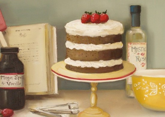 Layer Spice Cake 550x391 {happy weekend!}