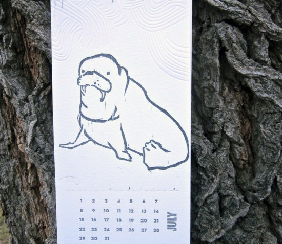 Bird Dog Press 2012 Climate Calendar 550x477 2012 Calendar Round Up, Part 10