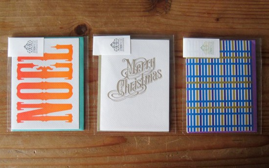 Citron Presse Holiday Cards 550x343 2011 Holiday Card Round Up, Part 12