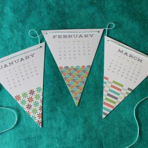 Curious Co Bunting Calendar 300x300 2012 Calendar Round Up, Part 10