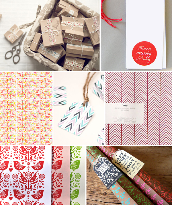 Gift Wrap Ideas Inspiration2 Holiday Gift Wrap Inspiration, Part 3