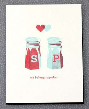 Hello Lucky Valentines Day Card 300x366 Seasonal Stationery: Valentines Day Cards, Part 4