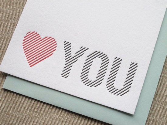 Maida Vale Valentines Day Card 550x412 Seasonal Stationery: Valentines Day Cards