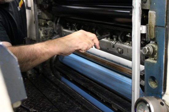 Offset Printing Process6 550x367 The Printing Process: Offset Printing
