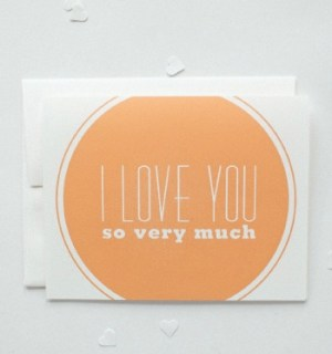 Our Paper Shop Love Card 300x320 Seasonal Stationery: Valentines Day Cards, Part 5