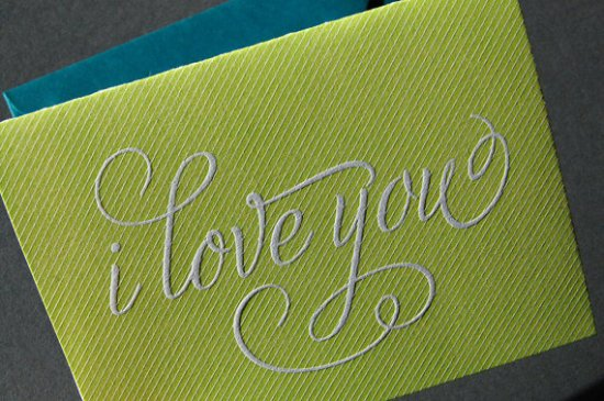 Pistachio Press Love Valentines Day Card 550x365 Seasonal Stationery: Valentines Day Cards, Part 3