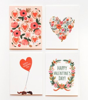 Rifle Paper Co Valentines Day2 300x340 Seasonal Stationery: Valentines Day Cards