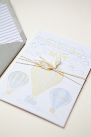 Smitten Owl Hot Air Balloon Baby Shower Invitations2 300x450 Micheles Hot Air Balloon Baby Shower Invitations