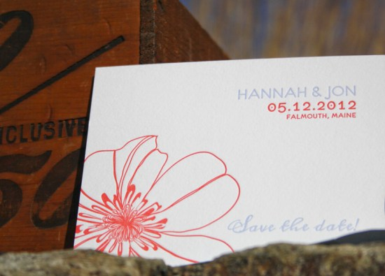 Smudge Ink Wedding Invitations Drew Save the Date 550x395 Wedding Invitations by Smudge Ink