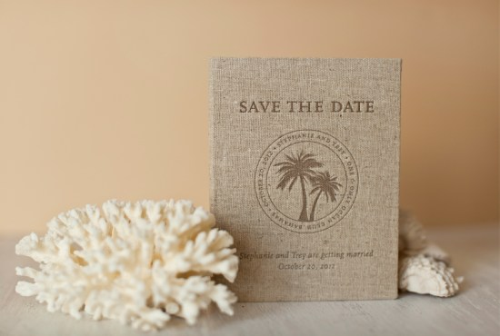 Tropical Bahamas Passport Save the Dates Letterpress Atheneum Creative 550x370 Stephanie + Treys Tropical Passport Save the Dates