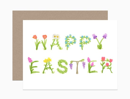 dearhancock easter text 550x420 Spring Cards from Dear Hancock