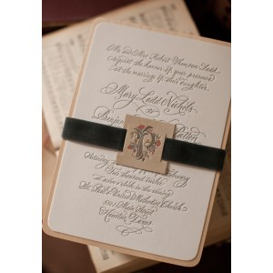 Astonishing For Mary Rustic Letterpress Wedding Invitations Wedding Invitations Reviews Wedding Invitations Pinterest