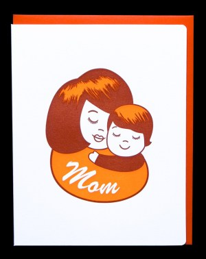 babymama dudeandchick1 300x379 Seasonal Stationery: Mothers Day Cards
