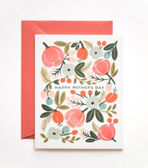 blooming mothersday card riflepaperco1 300x340 Seasonal Stationery: Mothers Day Cards