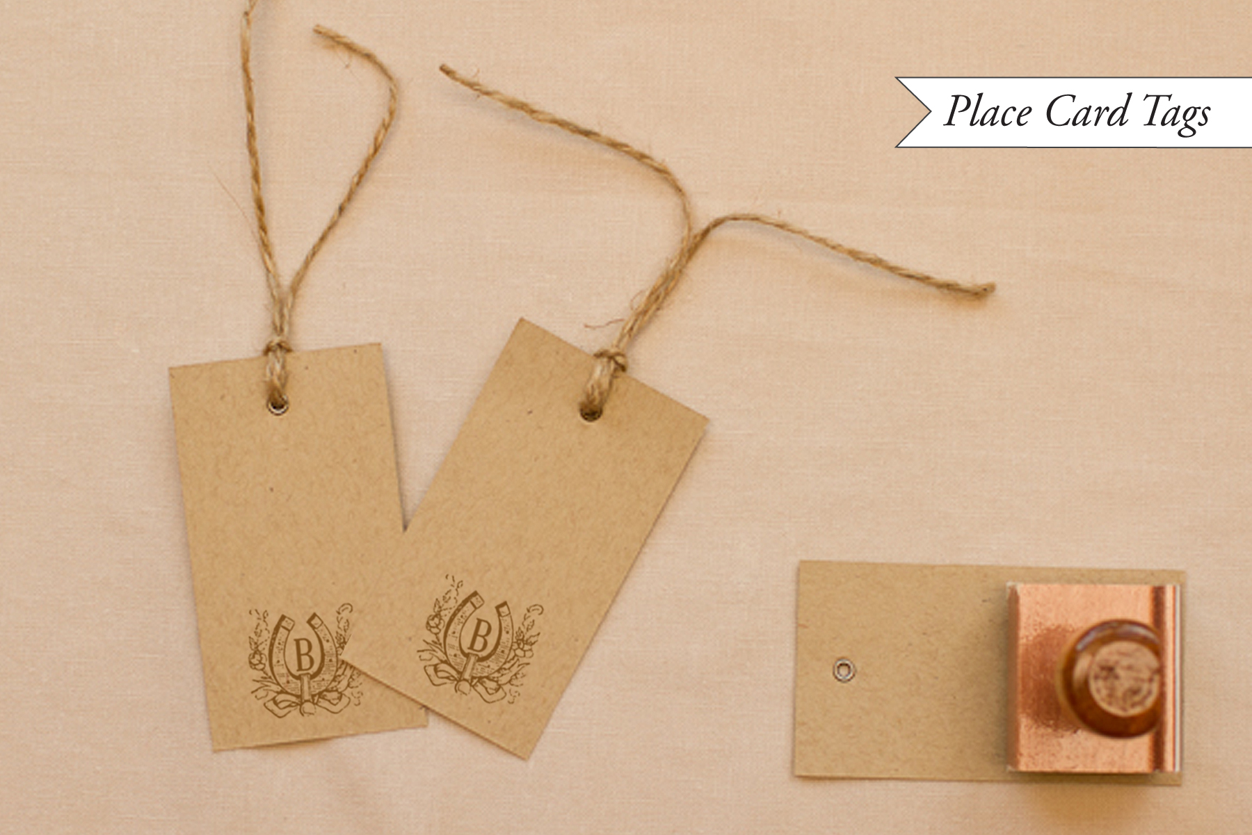 diy tutorial western reception wedding details part i western wedding ideas Western Wedding Detail Ideas and Inspiration Place Cards