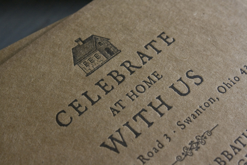 Rena + Michaelu0027s Semi-Formal Handkerchief Wedding Invitations - Formal Invitation