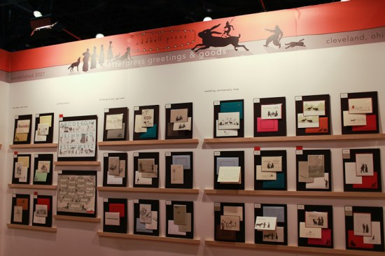 NSS 2012 Oddball Press 1 550x366 National Stationery Show 2012, Part 10