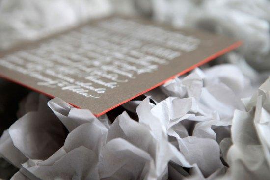 Wedding Invitations Ligature Collection Paperfinger8 550x367 Ligature Wedding Invitation Collection by Paperfinger