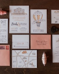 Letterpress Wedding Invitations by 9th Letter Press (1)