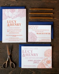 Letterpress Wedding Invitations by 9th Letter Press (3)