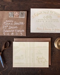 Letterpress Wedding Invitations by 9th Letter Press (9)