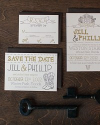 Letterpress Wedding Invitations by 9th Letter Press (6)