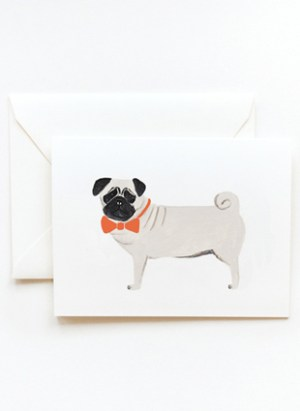 dogpug 300x411 Stationery A – Z: Pet Sympathy Cards