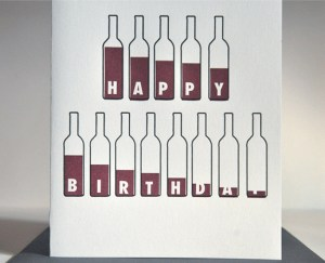 wine lovers birthday 300x243 Stationery A – Z: Birthday Cards for the Guys