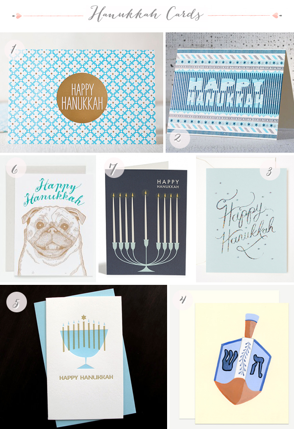 2012 Hanukkah Cards Seasonal Stationery: Hanukkah Cards