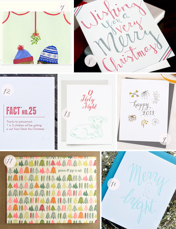 2012 Holiday Cards Part4 Seasonal Stationery: 2012 Holiday Cards, Part 2