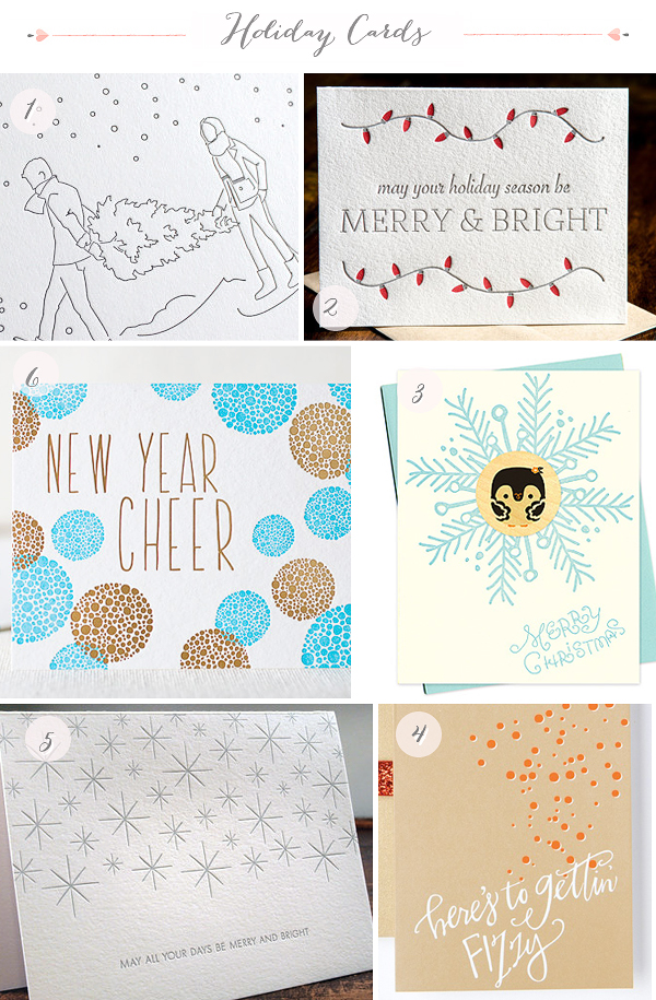 2012 Holiday Cards Part5 Seasonal Stationery: 2012 Holiday Cards, Part 3