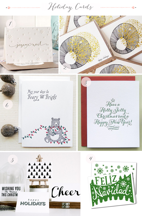 2012 Holiday Cards Part7 Seasonal Stationery: 2012 Holiday Cards, Part 4