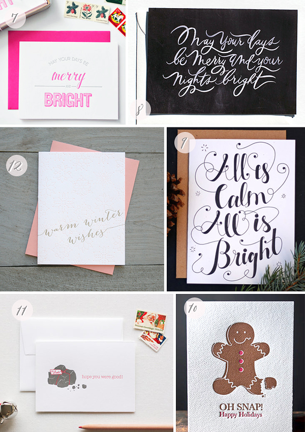 2012 Holiday Cards Part8 Seasonal Stationery: 2012 Holiday Cards, Part 4