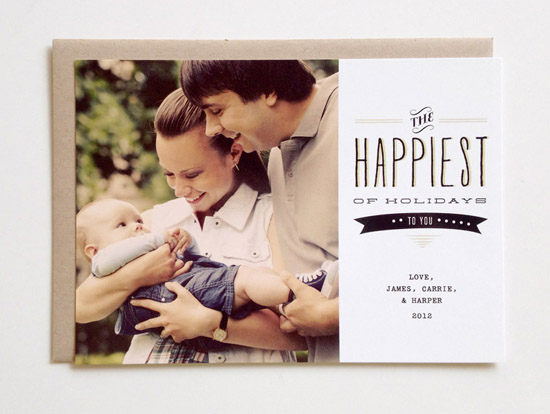 Hello Tenfold Holiday Photo Card Seasonal Stationery: Holiday Photo Cards