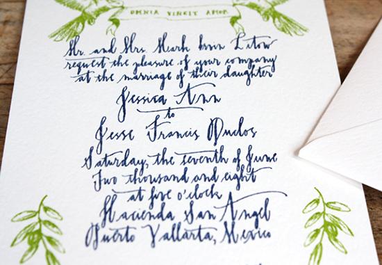 LineaCarta2 Calligraphy Inspiration: Linea Carta
