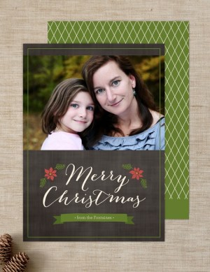 Ringleader Paper Co Holiday Photo Card2 300x389 Seasonal Stationery: Holiday Photo Cards