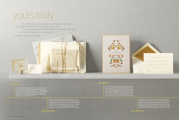 Martha Stewart Weddings Winter 2013 Issue Stationery Sneak Peek – Martha Stewart Weddings Winter 2013 Issue!