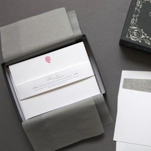 Sesame Letteprress Silhouette Stationery Girl 300x300 Quick Pick: Sesame Letterpress Silhouette Stationery