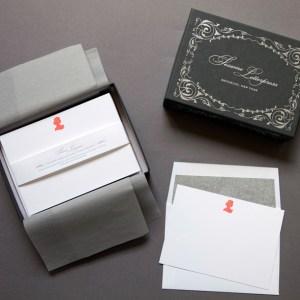 Sesame Letterpress Silhouette Stationery Woman 300x300 Quick Pick: Sesame Letterpress Silhouette Stationery
